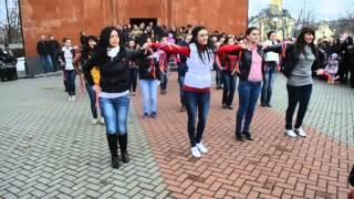 Флешмоб (Армянский Флешмоб в Калининграде )