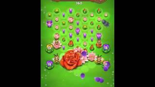 Blossom Blast Saga Level 156 No Boosters