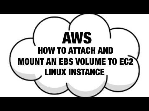 AWS Attach EBS Volume To A Linux EC2 Instance