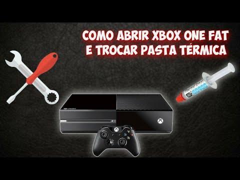 COMO ABRIR XBOX ONE E FAZER LIMPEZA E TROCAR PASTA TÉRMICA