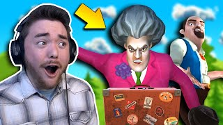I Kicked Hello Neighbor's Sister OUT OF HER HOUSE!!! | Scary Teacher 3D