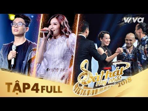 Sing My Song - Bài Hát Hay Nhất 2018 | Tập 4 Full HD: 4 HLV liên tiếp gạt cần dù team đã đủ vì...?