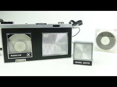 Forgotten Format: SANYO Micro-Pack 35 Tape Recorder