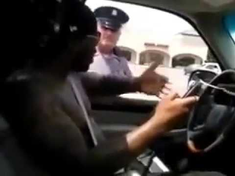 Police Officer Pulls Over African Americans For