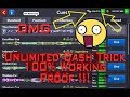 8 Ball Pool !! Latest Unlimited Cash Trick !! 100% Working !! Proof Added !!