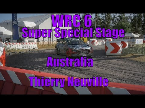 WRC 6 Super Special Stage Australia Thierry Neuville