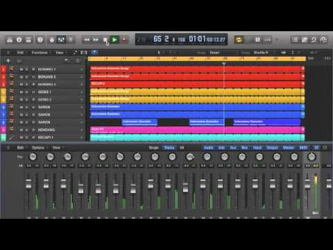 JUST PLAY GAMELAN 2 | JAMPACK WORLD MUSIC | LOGIC PRO X COMPOSITION