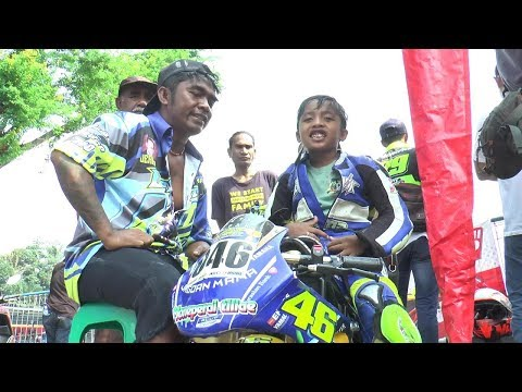 panglima hari pembalap Mini GP asal NTT (gass tipis champhionship)