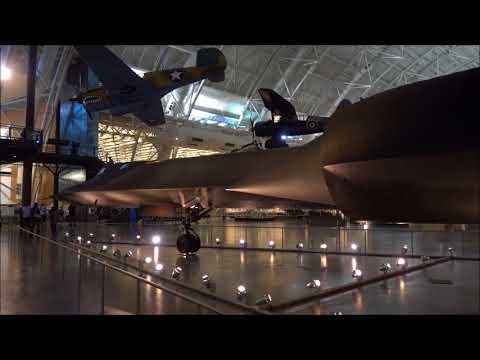 The Lockheed SR-71 Blackbird, Steven F. Udvar-Hazy Center, United States.