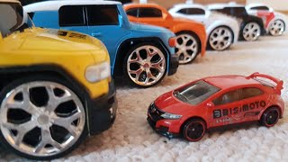 Toy Cars Sliding with slide 6 Super Toy Cars for Kids