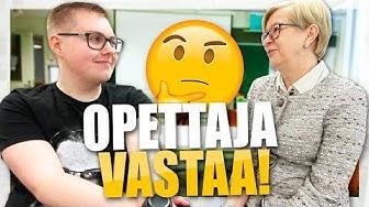 YLLÄTYSVIERAILU VANHALLE YLÄASTEELLE!