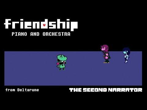 DELTARUNE Piano and Orchestra - Friendship