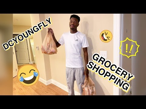 DCYOUNGFLY WENT GROCERY SHOPPING!
