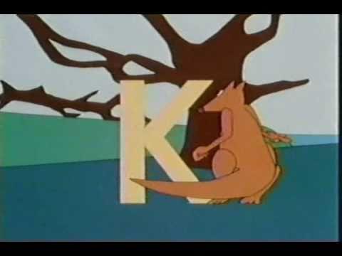 classic sesame street animation k for kangaroo youtube