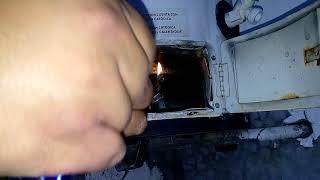 Reparando quemador de Boiler que produce mucho hollín