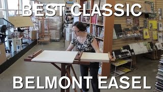 Richeson Lyptus Wood Belmont Easel - Opus Art Supplies