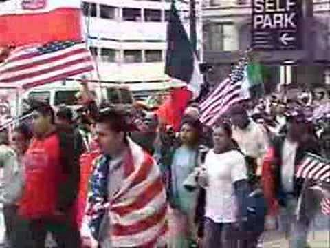 Chicago Immigrant Workers Rights March Pt 2