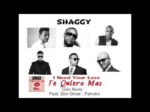 Shaggy ft Don Omar, Farruko, Faydee, Mohombi & Costi - TE QUIERO MAS (Latin Remix) produced by COSTI