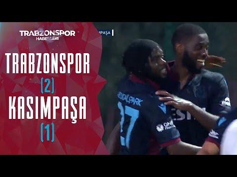 Trabzonspor 2 - 1 Kasımpaşa Hazırlık Maçı (MAÇ ÖZETİ VE GOLLERİ) | 26.07.2021
