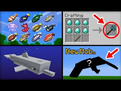 Thumbnail: ✔ Minecraft 1.14 Update - 10 Features That Will Be Added