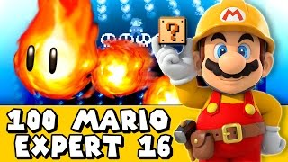 Super Mario Maker: Yogtowers Is Burning?! (Expert #16)