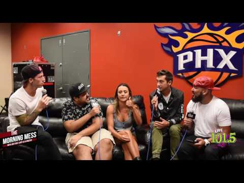 Twenty One Pilots Interview w/ The Morning Mess 7-26-16