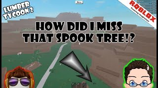 Roblox - Lumber Tycoon 2 - Un jour de plus! Arbres spook!