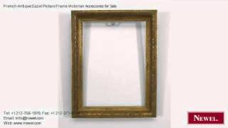 French Antique Easel Picture Frame Victorian Accessories