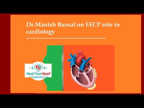 dr manish bansal on eecp role in cardiology