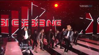 Bigbang - Somebody To Love (2011.03.06 popular song)
