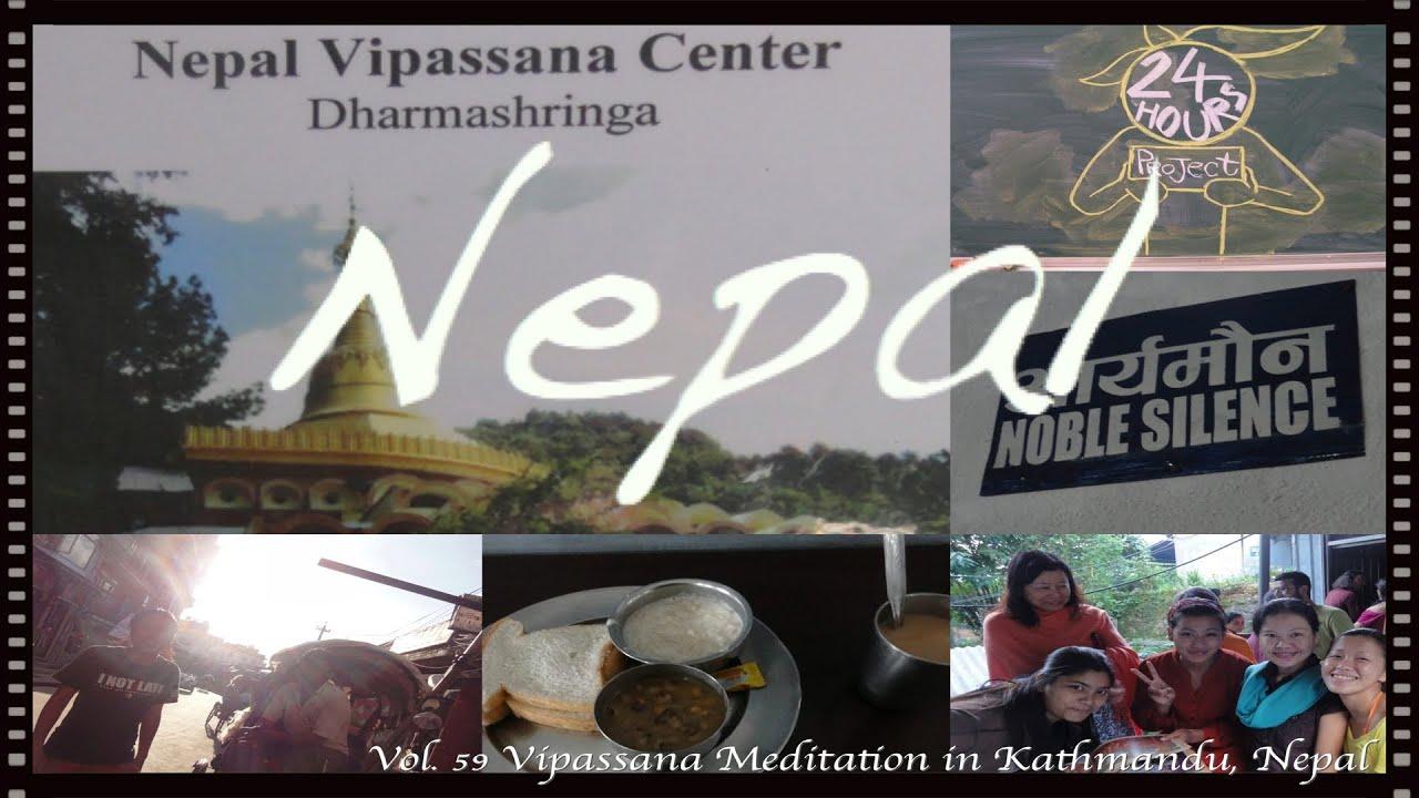 24 Hours Project Vol. 59 Vipassana Meditation in ...
