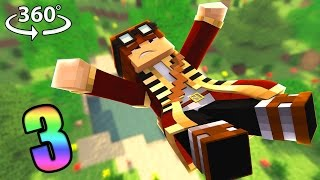 The Dropper 3 - The Craziest Drops! - 360° Minecraft Video