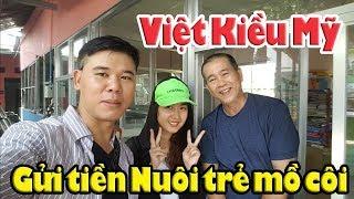 Việt Kiều Mỹ chung tay gửi tiền nuôi trẻ mồ côi Mái ấm Thiên Thần Quận 9 Sài Gòn