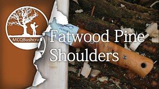 Bushcraft Fire Lighting: Finding Fatwood Pine Shoulder Tinder