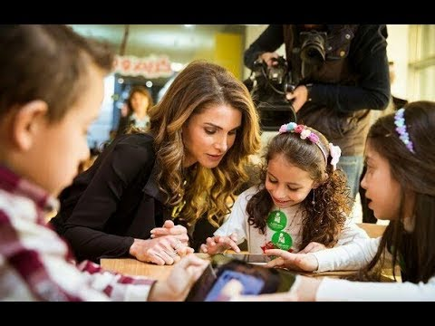 Queen Rania Started An Educational Mobile App For Children
