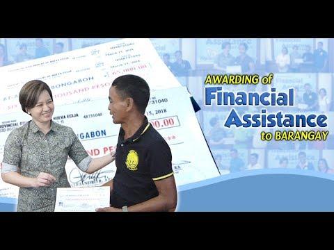 29 barangay, tumanggap ng financial assistance mula sa Provincial Government of Nueva Ecija