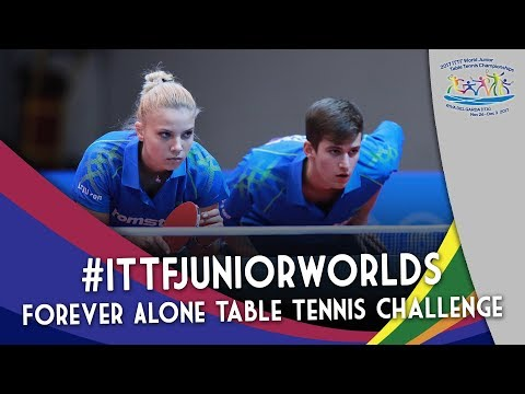 2017 #ITTFJuniorWorlds | Romanian Stars Forever Alone Table Tennis Challenge