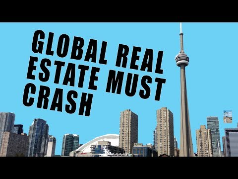 Global Real Estate Prices at ALL-TIME RECORD HIGH! Here's Why This Will Crash HARD!