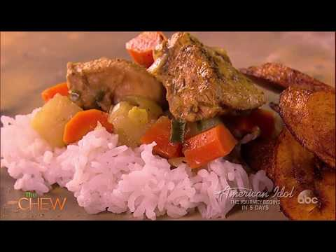 Grace Byers' Caribbean Curry Chicken  The Chew