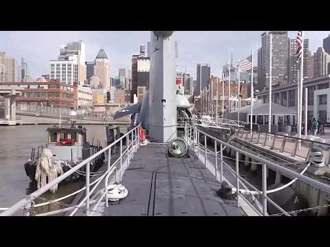 THE US NAVY USS GROWLER SUBMARINE TOUR NEW YOK,NEW YORK 4-3-2017