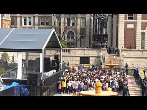 Columbia University EDM festival.