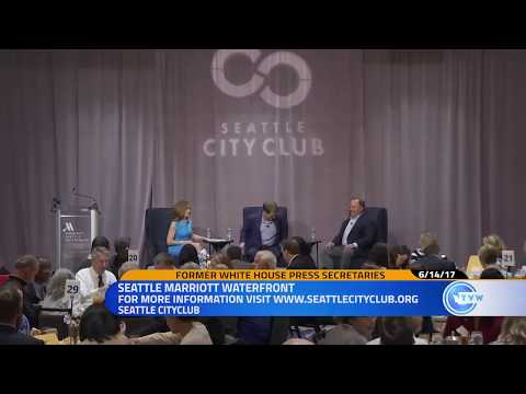 The White House & the Fourth Estate: Seattle CityClub's Annual Benefit