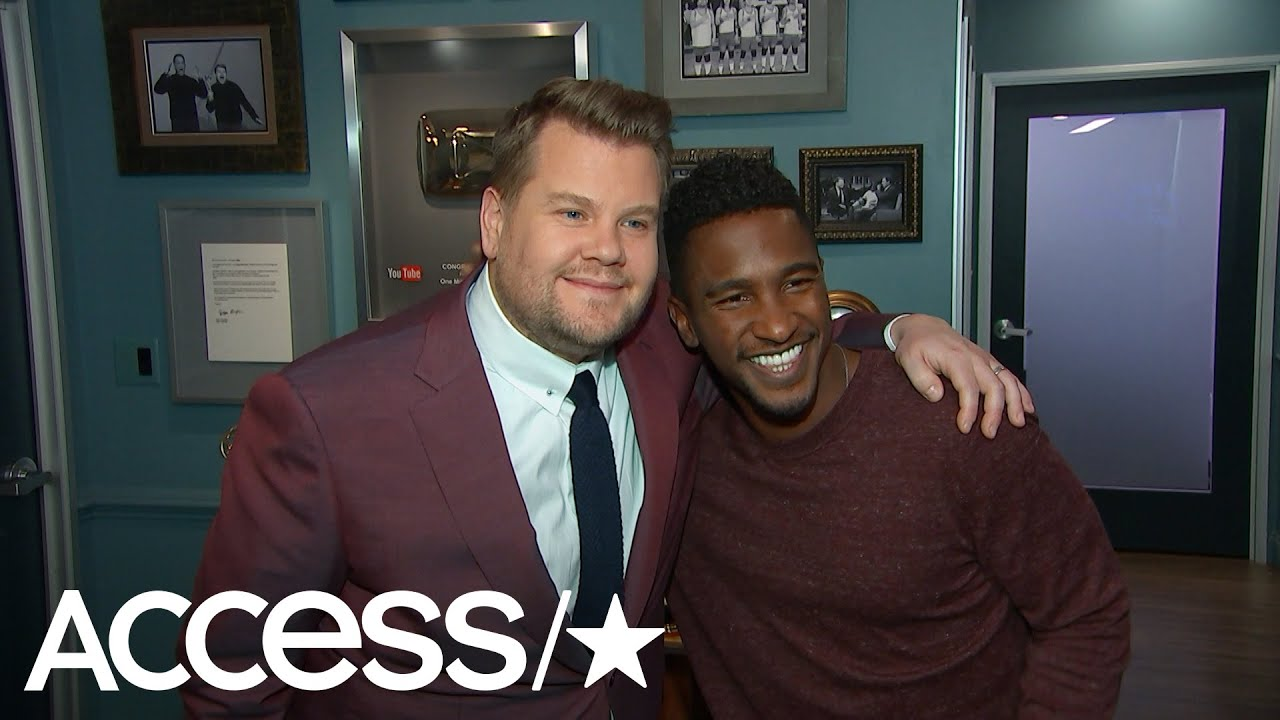 James Corden Jokes That He Was The Ringbearer At Chris Pratt's Engagement | Access