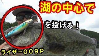 湖のど真ん中なのにトップで釣れまくり!【異次元の釣り】 thumbnail