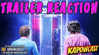 BILL AND TED FACE THE MUSIC TEASER TRAILER REACTION | KAPOWCAST REACTS