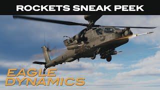 DCS: AH-64D | Rockets Sneak Peek