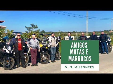 Amigos, Motas e Marrocos - Almoço convívio em Vila Nova Milfontes