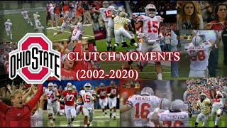 Ohio State Football Clutch Moments (2002-2020)