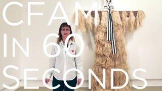 CFAM in 60 Seconds: Laura Anderson Barbata