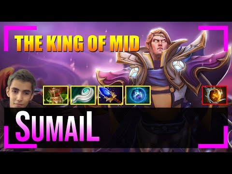 SumaiL - Invoker | The KING Of MID | Dota 2 Pro MMR Gameplay #53